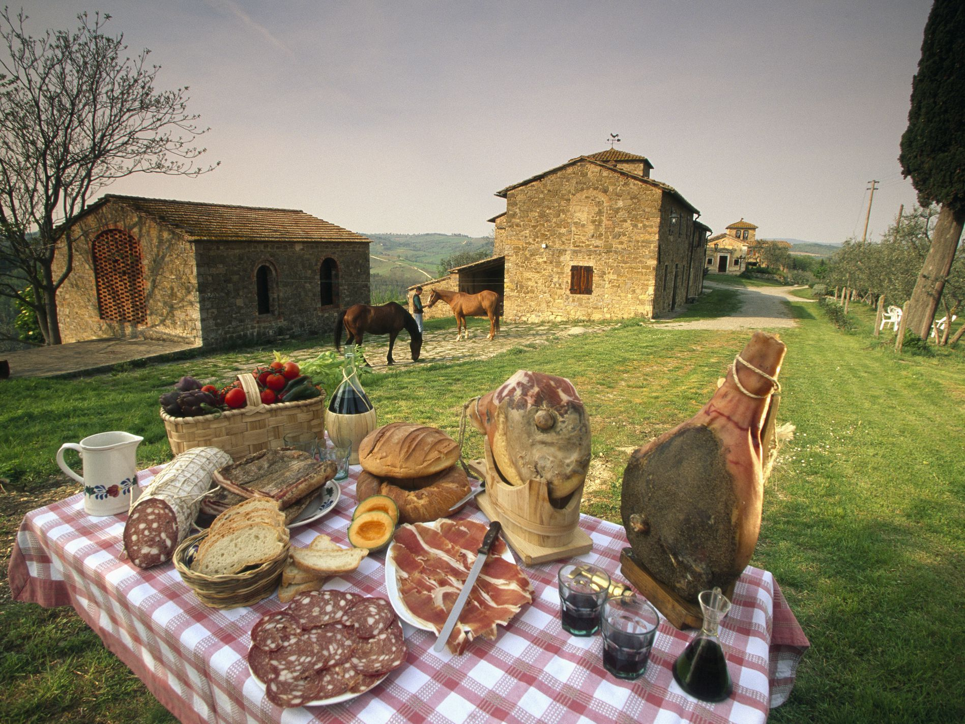 Pertanian Italia Menawarkan Agrowisata